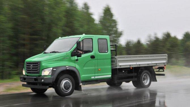 «ГАЗон NEXT» стал самым популярным грузовиком вРоссии
