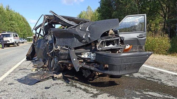 В ДТП в Юрьянском районе Кировской области погиб человек