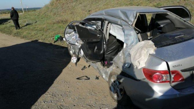 В ДТП с грузовиком под Тамбовом погибла женщина