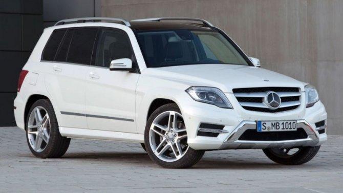 Подорожали кроссоверы Mercedes-Benz GLC