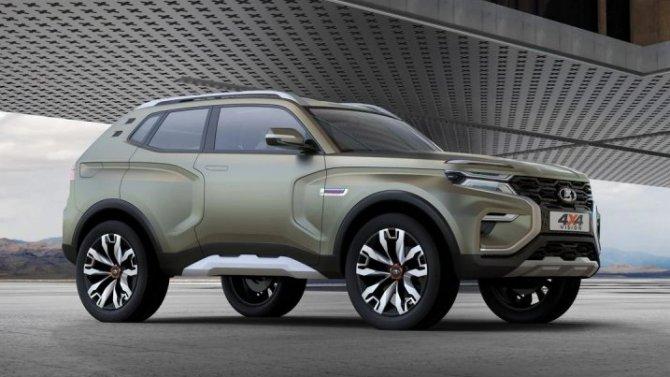 «АвтоВАЗ» запустил опрос поповоду судьбы концепт-кара Lada 4×4 Vision