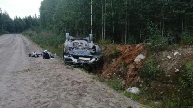 Две женщины пострадали в ДТП в Карелии