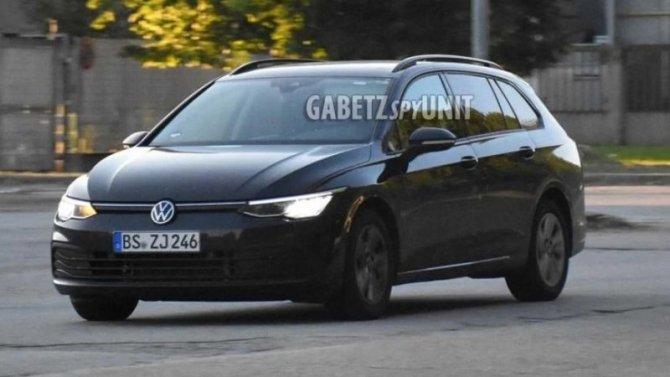 Начались испытания нового универсала Volkswagen Golf Variant