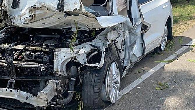 Водитель иномарки погиб вДТП наКубани