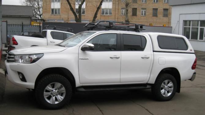 Установка кунга ARB на Toyota Hilux