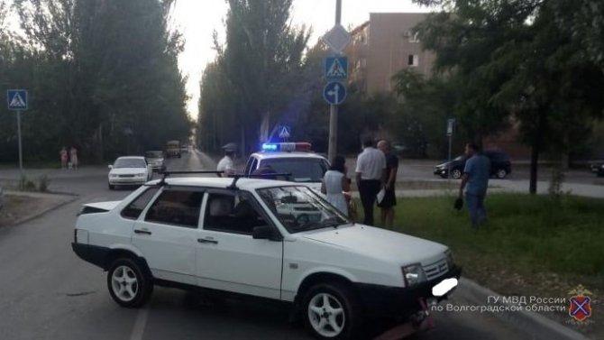 В Волжском ВАЗ сбил 6-летнего мальчика на самокате