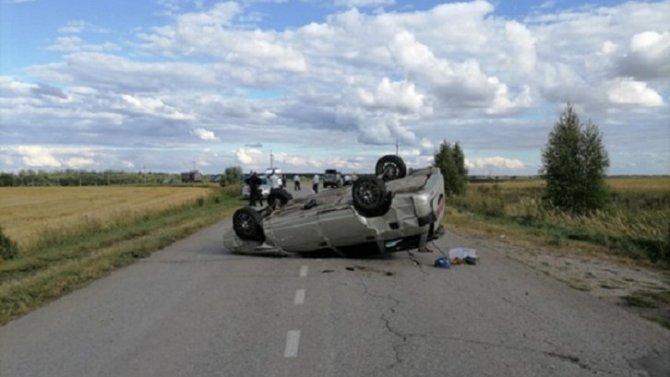 Женщина погибла при опрокидывании ВАЗа в Кораблинском районе Рязанской области