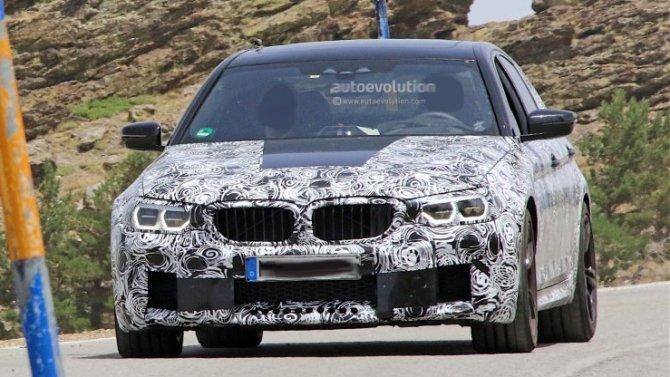 BMW M5 получит гибридную иэлектрическую модификации