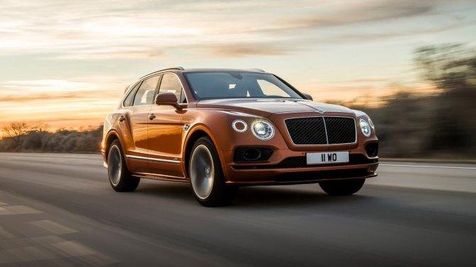 ВРоссии вновь отзывают Bentley Bentayga