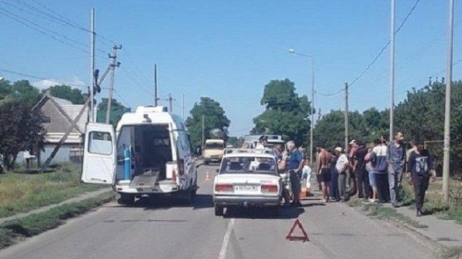 В Ростовской области женщина на ВАЗе сбила 5-летнего ребенка