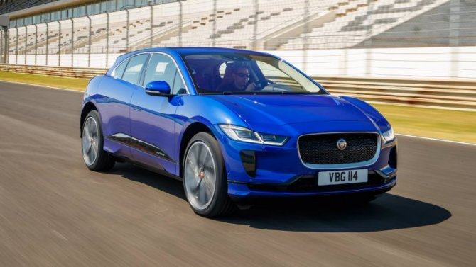 ВЕвропе начались продажи базовой модификации Jaguar I-Pace