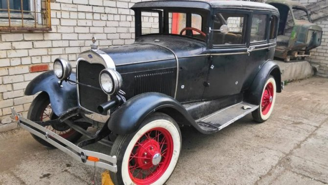 ВРоссии нашёлся Ford, сделанный 91 год назад