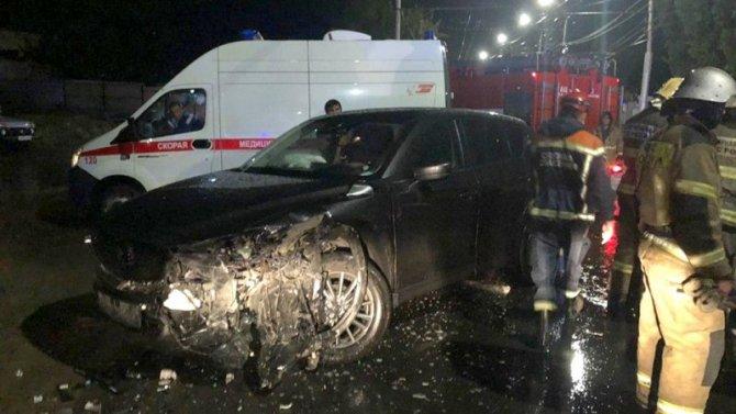 Три человека пострадали в ДТП в Саратове