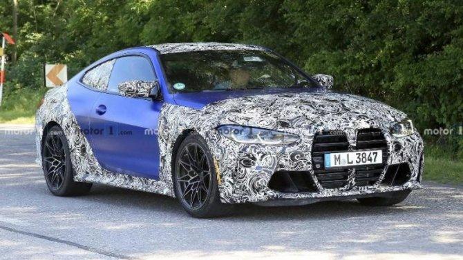 Обновлённое купе BMW M4 завершает испытания