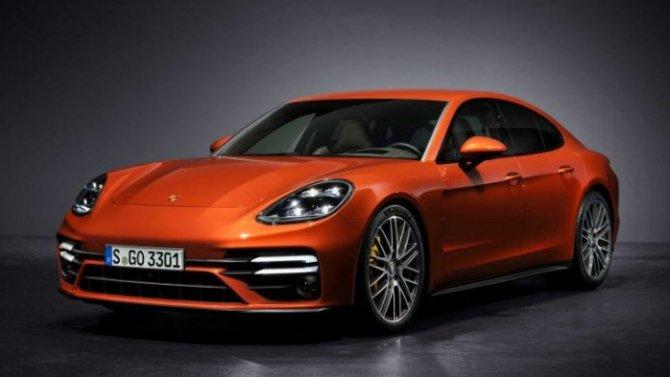 Представлен обновлённый Porsche Panamera