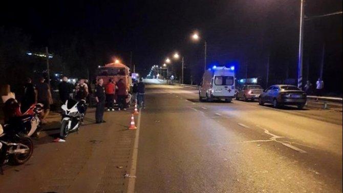 Мотоциклист погиб в ДТП вТрусовскомрайоне Астрахани