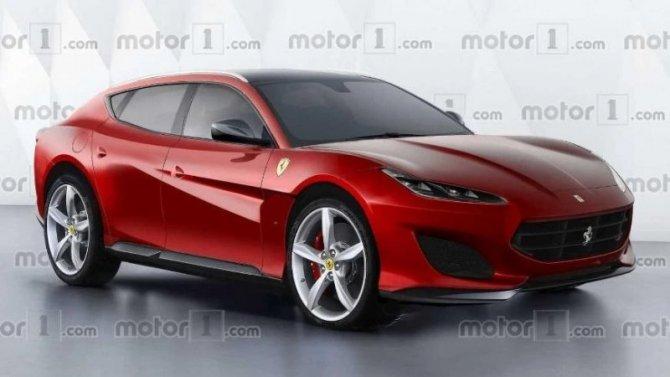 Наиспытания выехал прототип кроссовера Ferrari Purosangue