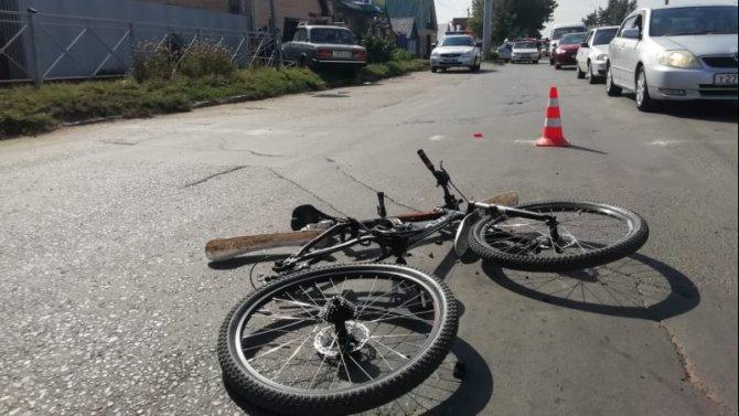 Велосипедист погиб в ДТП в Оренбурге