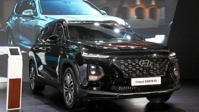 ВРоссии появилась новая спецверсия Hyundai Santa Fe