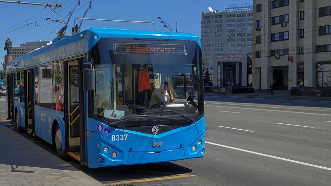 В Москве больше не будет троллейбусов