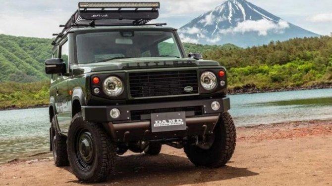 ВЯпонии вновь тюнинговали Suzuki Jimny