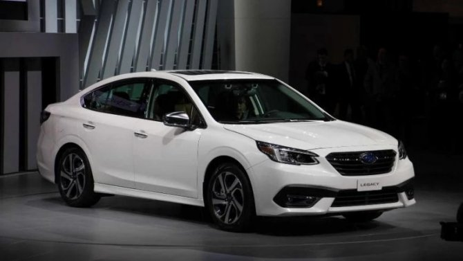 Известны цены нановые Subaru Legacy иOutback