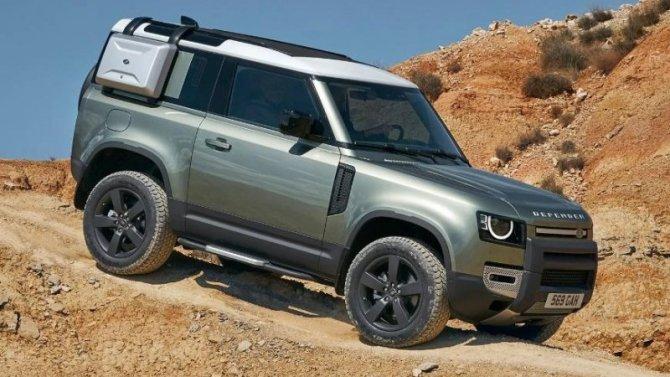 Отложено начало производства Land Rover Defender 90