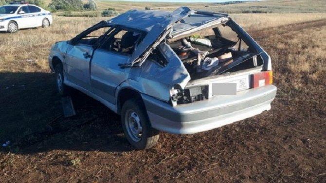 Трое детей пострадали в ДТП в Оренбургской области