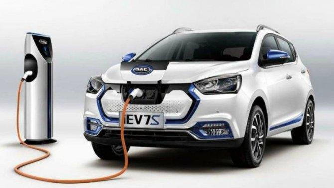 ВРоссии сертифицирован электромобиль отJAC Motors