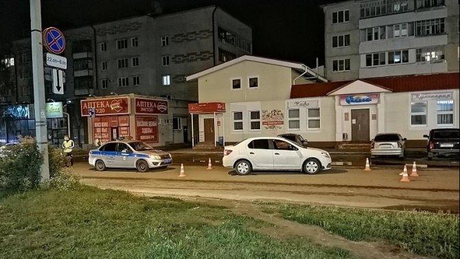 ВЙошкар-Оле сбили пожилую женщину