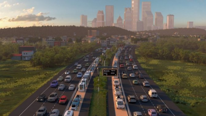 Выделенные дороги для беспилотников могут заменить железные дороги между городами