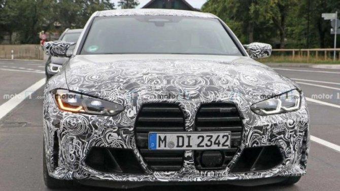 Известна дата презентации спорт-седана BMW M3 нового поколения