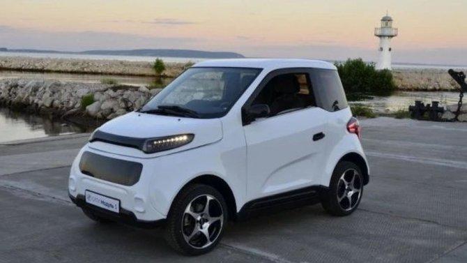 Винтернете появились снимки серийного электромобиля Zetta