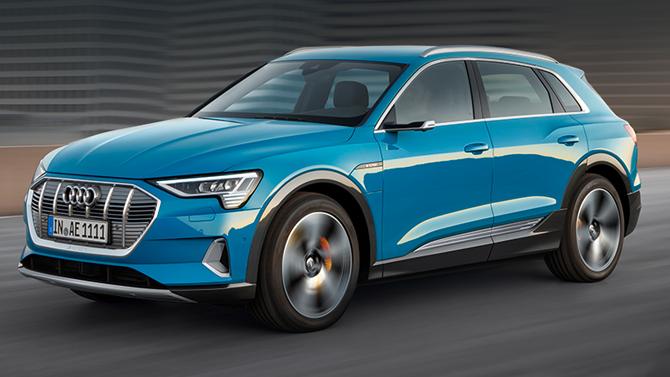 Старт продаж электрокара Audi e-tron в России
