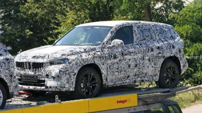 ВГермании испытывается обновлённый BMW X1
