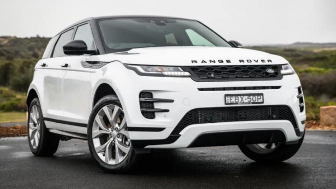 Кроссовер Range Rover Evoque стал гибридным