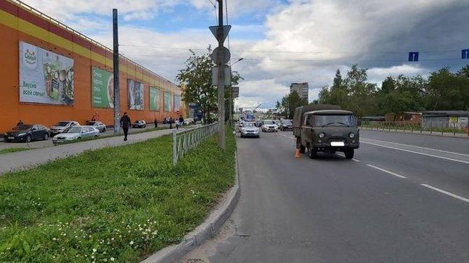 В Череповце УАЗ сбил 9-летнего ребенка