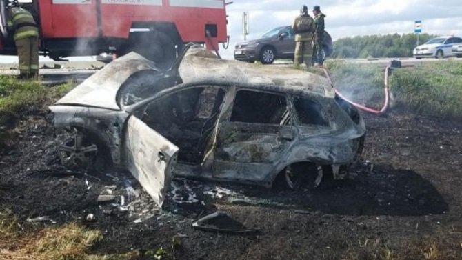 В ДТП в Пронском районе погиб водитель иномарки