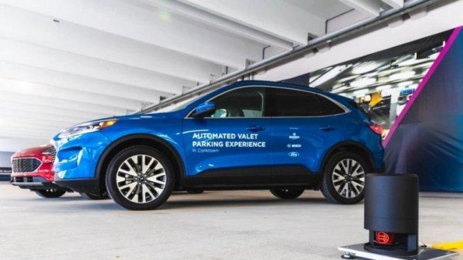 Автомобили Ford получат инновационную систему помощи при парковке