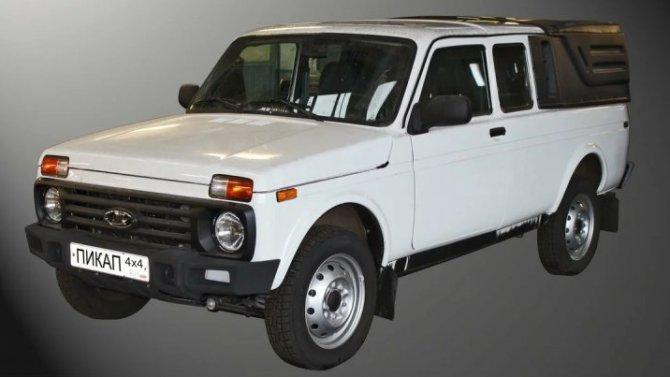 Lada 4×4 получит новые бамперы