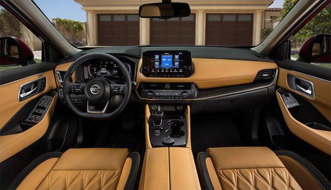 Nissan X-Trail 2020 салон
