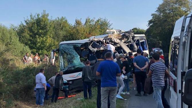 ДТП с автобосом под Калининградом