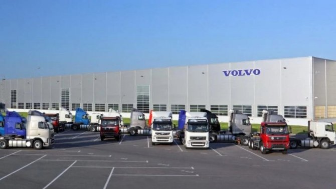 ВРоссии началась сборка новых грузовиков Volvo