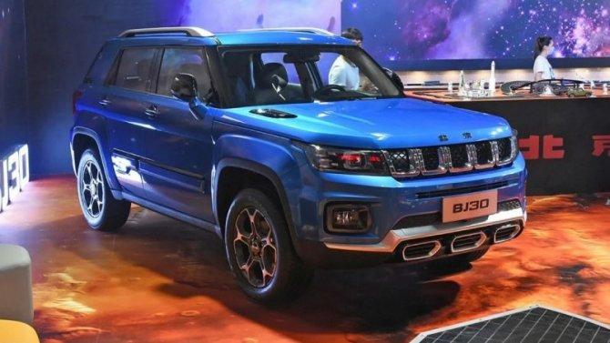 Китайцы вновь скопировали Jeep