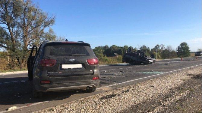 В ДТП в Сасовском районе пострадали три человека