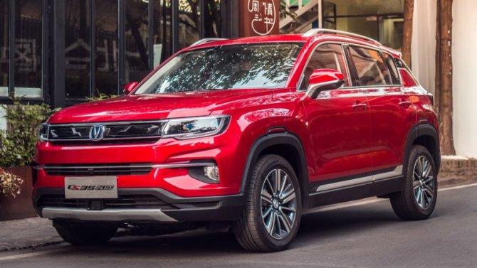 ВРоссии резко выросли продажи автомобилей Changan