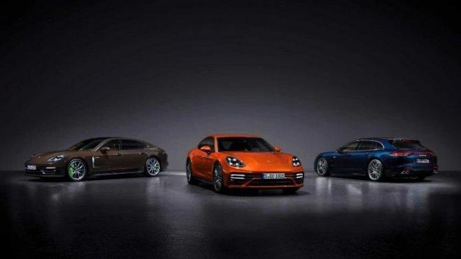Porsche Panamera E-Hybrid станет мощнее