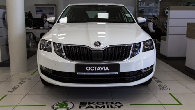 Всего одиннадцать автомобилей ŠKODA OCTAVIA третьего поколения!