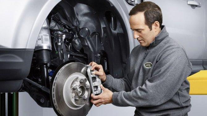 Замена тормозных колодок и дисков Land Rover в «АВИЛОН»