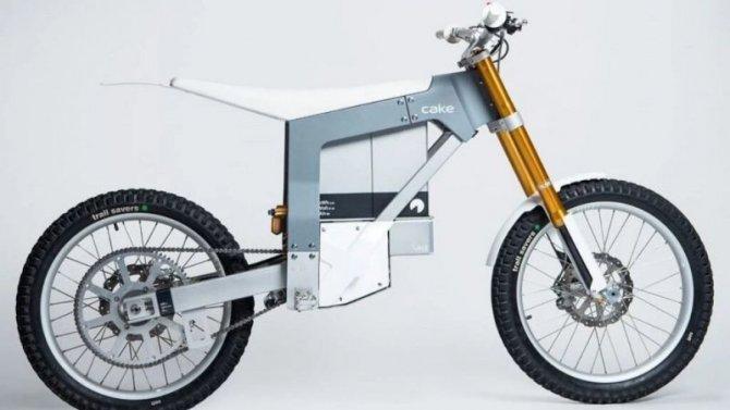 ВШвеции представлен новый электроцикл